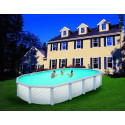 Piscine CONCORDE ovale 5.49x3.66x1.32H (structure+liner)