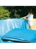 La pose du liner pour piscine hors sol