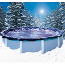 Tuyaux bache hivernage piscine hors sol ronde niveau eau - Bache d hiver pour piscine hors sol ...