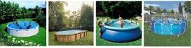 Des exemples de nos piscines hors sol.