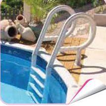 Echelle de piscine inox echelle piscine inox sur for Abri piscine zyke