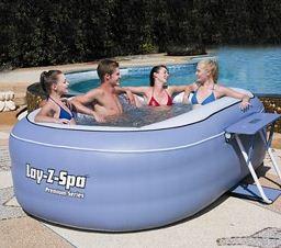 modeles de spas  le spa gonflable lay z ovale bestway