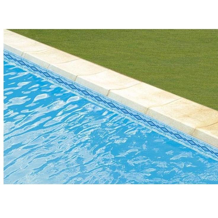 frise liner piscine excellent liner sable frise mallorca