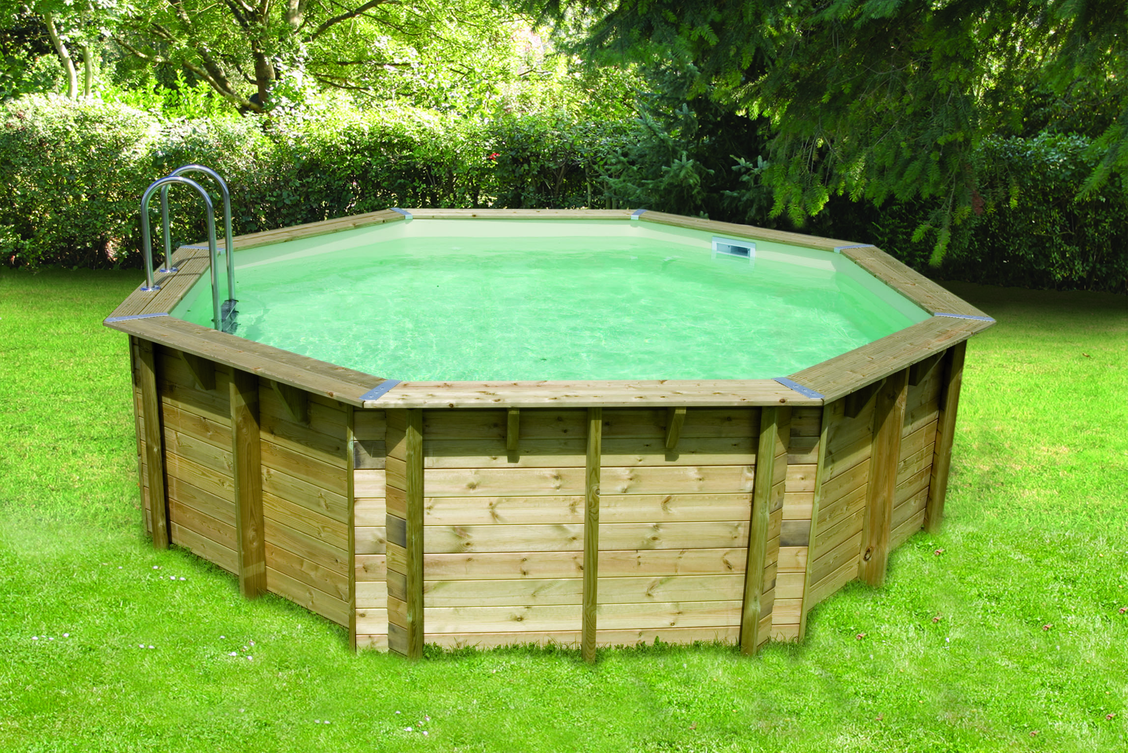 Volet roulant piscine capcir for Piscine bois zyke