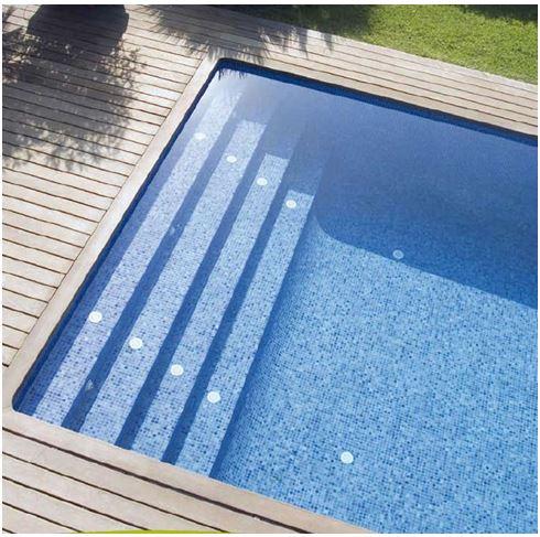 mini piscine mini piscines piscine avec liner gris fonc filtration sans canalisation pfi. Black Bedroom Furniture Sets. Home Design Ideas