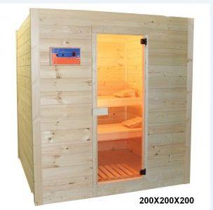 Le sauna à pierres volcaniques