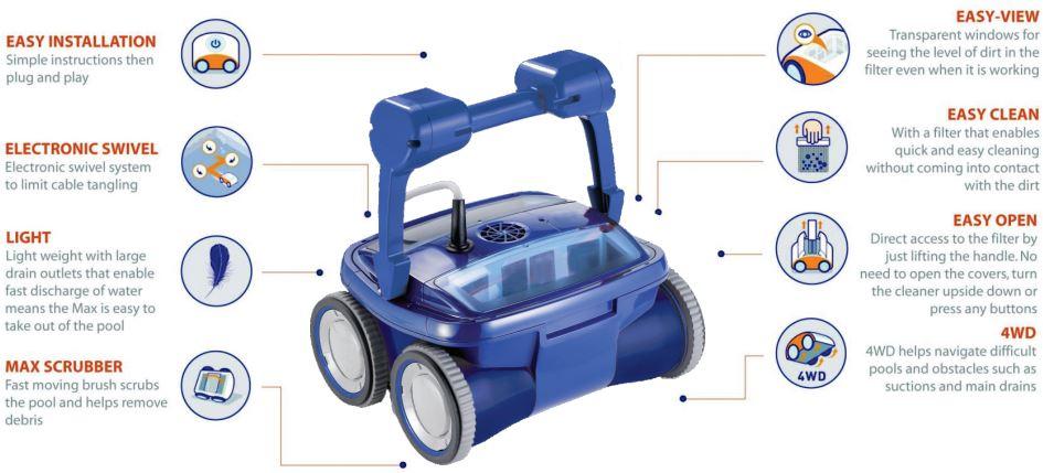 Index of upload files robot electrique for Robot piscine
