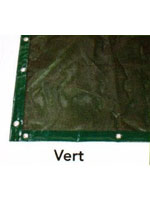 La bâche tenora est disponible en couleur verte