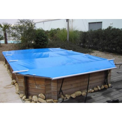 B ches barres wood securit pour piscines bois piscine for Piscine zyke hors sol