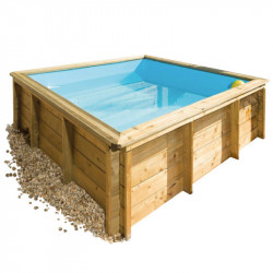 Piscine Tropic Junior 226 x 226 cm