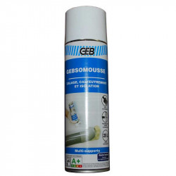 Mousse de calage calfreutrement et isolation GEB