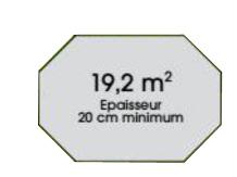 Piscine bois nortland ocea x x avec filtration for Accrocher liner piscine