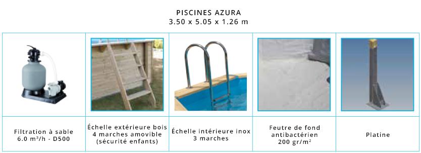 Accessoires piscine Nortland Azura