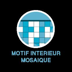 Motif intérieur en mosaïque