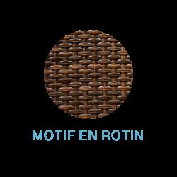 Motif en rotin