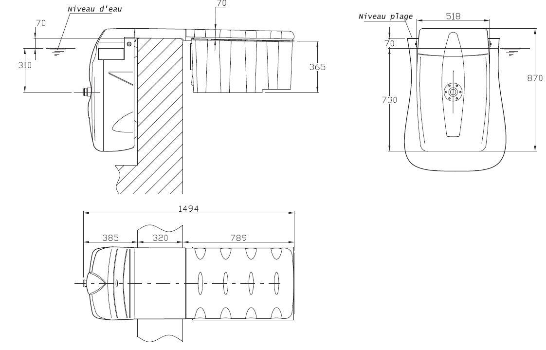 bloc de filtration piscine le bloc de filtration d 39 une piscine bloc de filtration pour. Black Bedroom Furniture Sets. Home Design Ideas