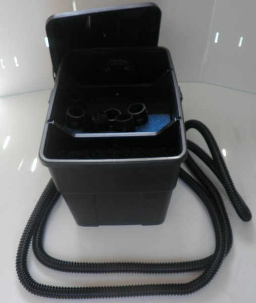 La filtration de bassin pontec multiclear 5000 est for Pompe externe bassin