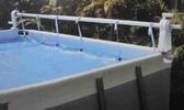L 39 enrouleur de b che solaire pour des piscines hors sol for Enrouleur de bache pour piscine tubulaire intex