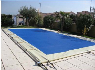 bache piscine 8 m