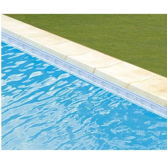 Liner 75 100 cali couleur unie frise piscine zyke for Fabricant de liner piscine sur mesure