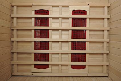 Un sauna mod le 193 en cabine infrarouges pour la d tente for Sauna la detente