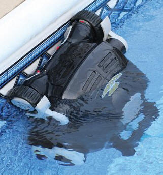 Robot nettoyeur de piscine solarbreeze robot nettoyeur de for Aspirateur piscine nitro