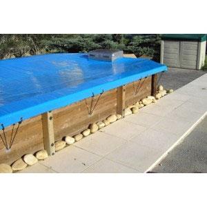 La b che d 39 hiver s curis e wood securit est d di e aux for Bache hivernage piscine